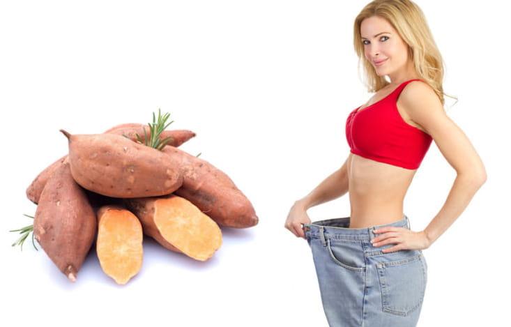ăn khoai lang là cách giúp kiểm soát cân nặng hiệu quả
