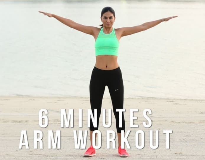 Bài tập Open arm movement  giúp tăng size vòng 1