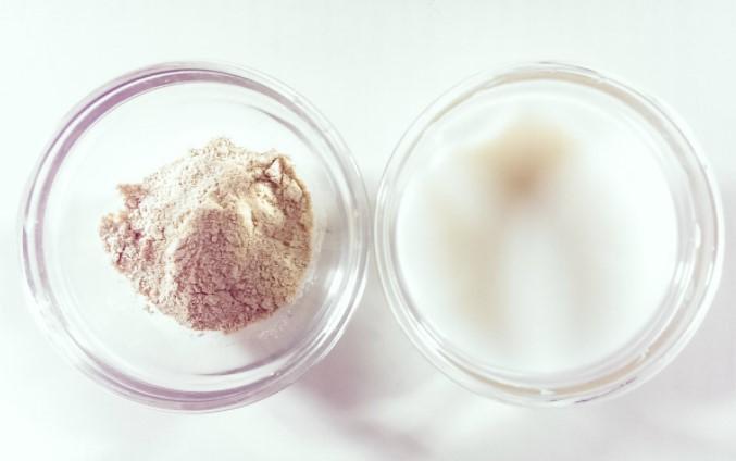 Bột dậu đỏ , sữa tươi k đường giúp da trắng sáng