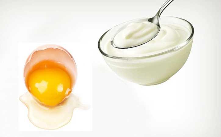 Cải thiện làn da trắng bằng lòng trắng trứng gà