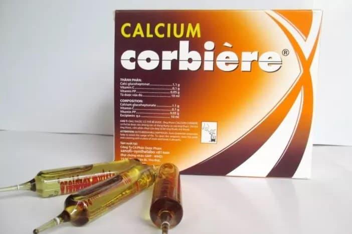 Calcium Corbiere 10Ml thuốc bổ sung canxi cho phụ nữ cho con bú