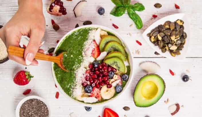 Chế độ ăn uống cân bằng giúp tăng chiều cao nhanh