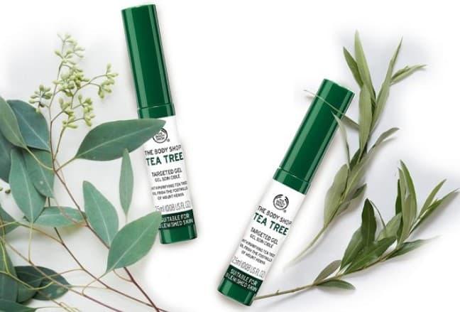 Gel chấm mụn chiết xuất Tea Tree của The Body Shop