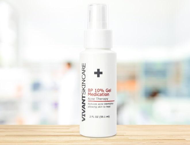 Kem trị mụn Vivantskincare BP 10% Gel Medication