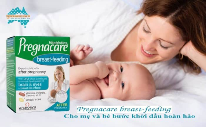 Vitamin tổng hợp cho phụ nữ sau sinh và cho con bú Pregnacare Breastfeeding