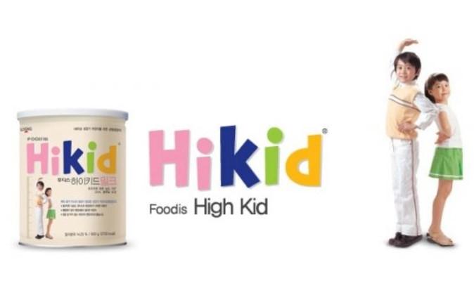 Sữa Hikid Premium tăng chiều cao tách béo
