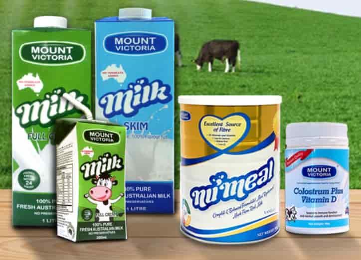 Sữa Mount Victoria tách béo, tăng chiều cao