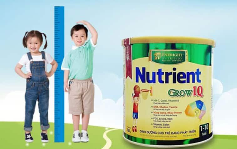 Sữa Nutrient Kao tăng chiều cao tách béo