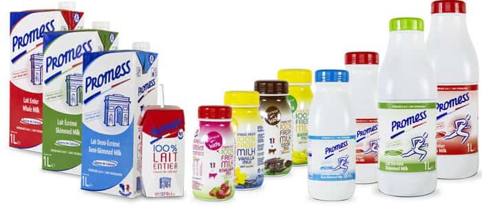 Sữa Tươi Promess Pháp tăng chiều cao không béo