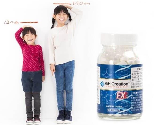 Thuốc tăng chiều cao của Nhật – GH Creation