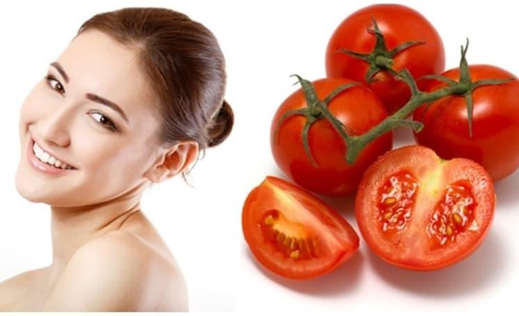 Trị mụn bọc với cà chua