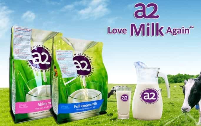 sữa A2 tách kem tăng chiều cao tách béo
