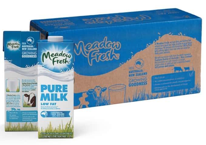sữa tăng chiều cao không béo Meadow Fresh New Zealand 200ml