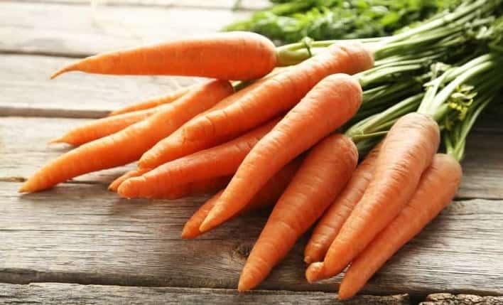 Cà rốt ăn dặm cho bé