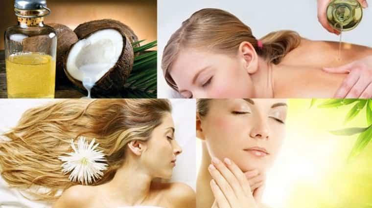 Dầu dừa giúp dưỡng ẩm, tẩy tế bào chết, dưỡng tóc, dầu massage….