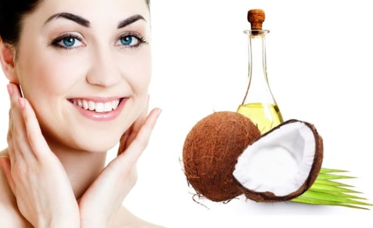 Dầu dừa giúp dưỡng trắng da hiệu quả