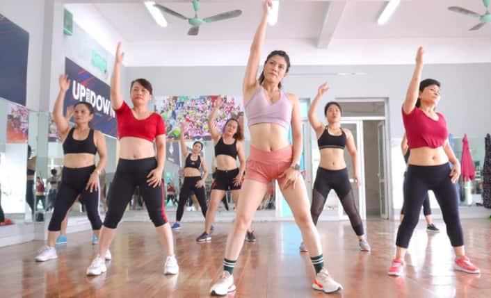 tập Aerobic giúp giảm cân nhanh trogn 3 ngày