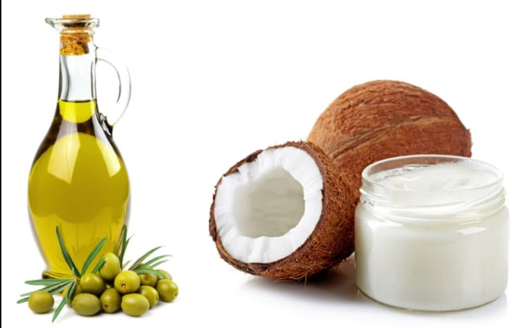 dầu dừa + dầu oliu