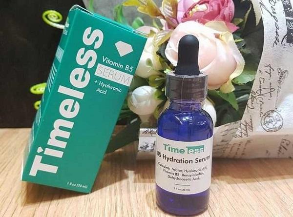 Cách sử dụng Timeless B5 Serum
