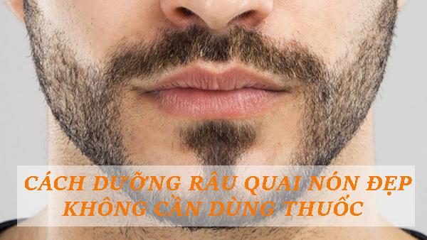 Gợi ý cách dưỡng râu quai nón đẹp đúng chuẩn không cần dùng thuốc