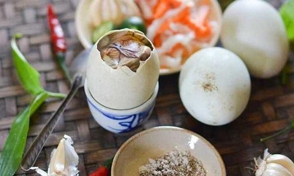 Lợi ích của trứng vịt lộn đối với thai kỳ