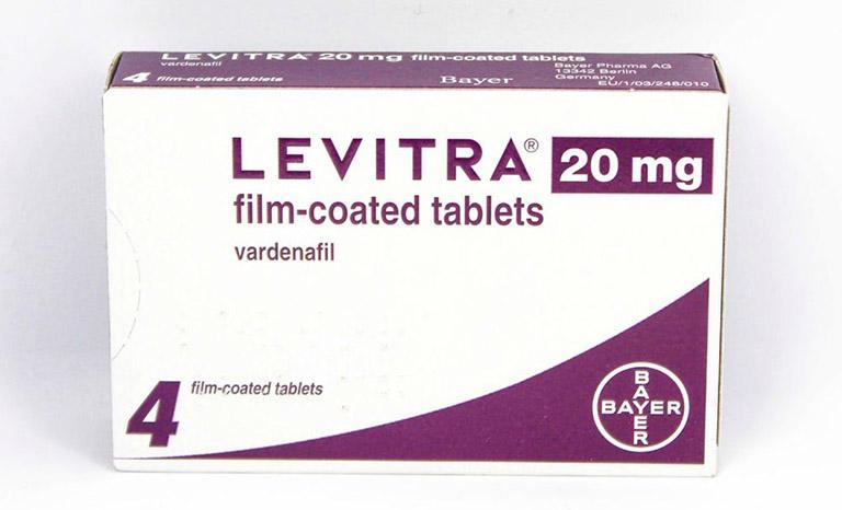 Thuốc Levitra (thúc đẩy tuần hoàn máu, kích thích tình dục)