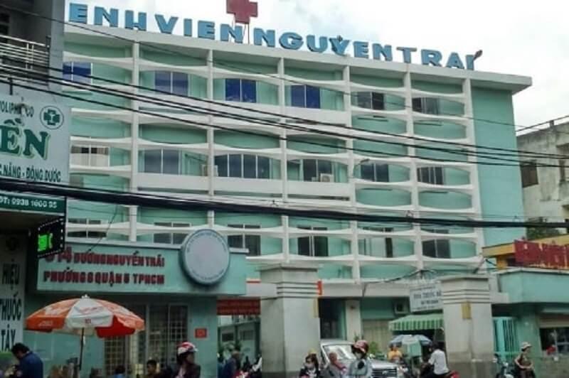 Khám chữa bệnh tại bệnh viện Nguyễn Trãi quận 5