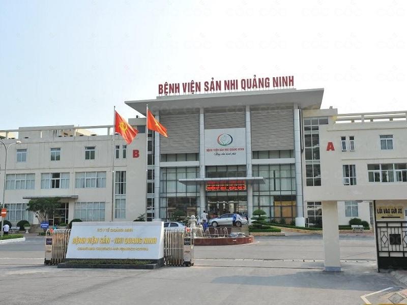 Một góc bệnh viện Sản Nhi Quảng Ninh