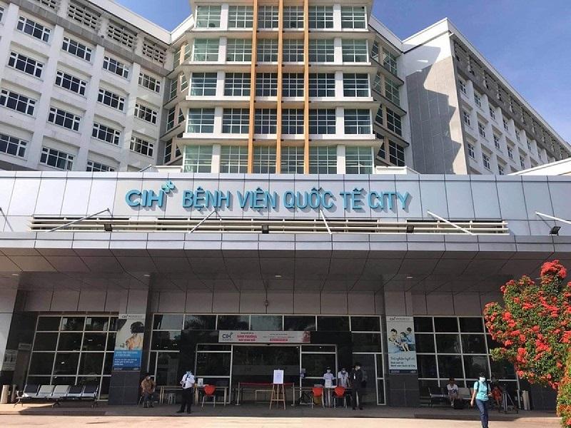 Một góc của bệnh viện Quốc Tế City
