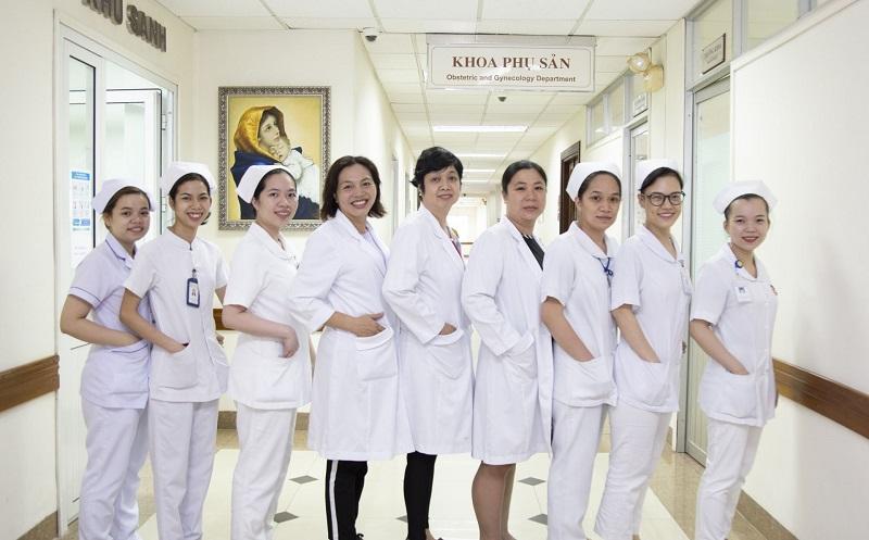 Đội ngũ bác sĩ của bệnh viện