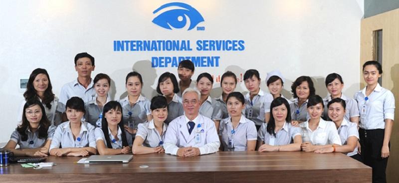 Đội ngũ y bác sĩ lành nghề