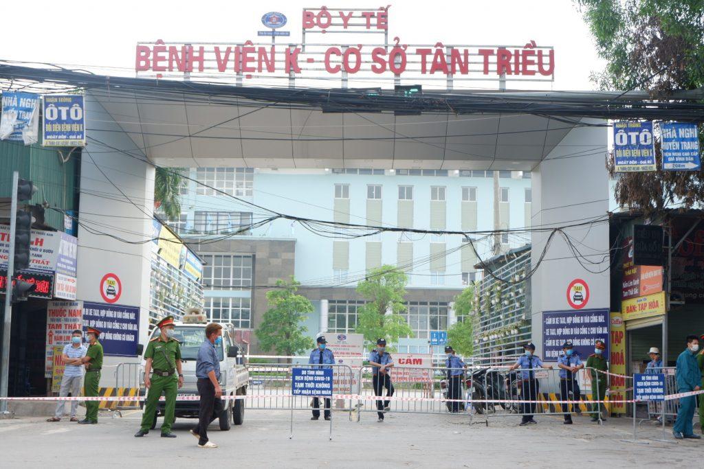Một góc bệnh viện K Tân Triều
