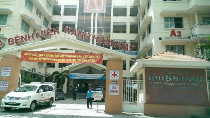 Bệnh viện Răng Hàm Mặt ở TP.HCM