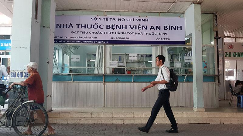 Nhà thuốc bệnh viện An Bình